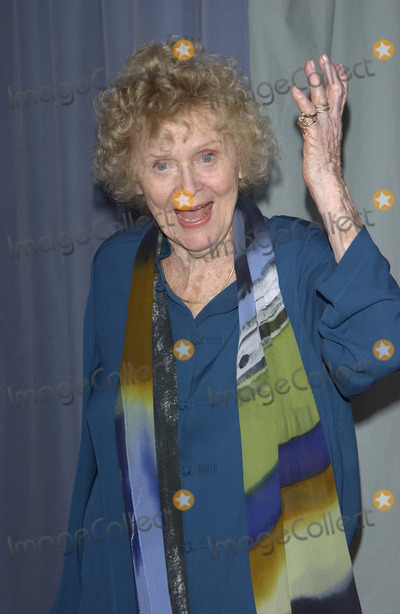 Gloria Stuart Photo - Actress GLORIA STUART at the world premiere of Ghosts of the Abyss at the Universal Citywalk IMAX The movie is director James Camerons 3D IMAX exploration of the TitanicMarch 31 2003