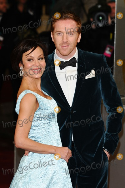 Damien Lewis Photo - Helen McRory and Damien Lewis arriving for the EE BAFTA Film Awards 2013 at the Royal Opera House Covent Garden London 10022013 Picture by Steve Vas  Featureflash