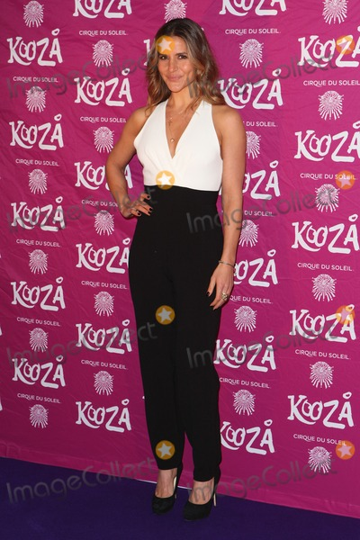 Amanda Byram Photo - Amanda Byram arriving for the Cirque Du Soleil Kooza Press Night at the Royal Albert Hall London 06012015 Picture by Alexandra Glen  Featureflash