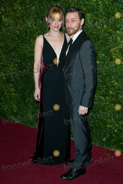 Anne-Marie Duff Photo - Anne Marie Duff and James McAvoy arriving for the Evening Standard Theatre Awards The London Palladium 30112014 Picture by Dave Norton  Featureflash