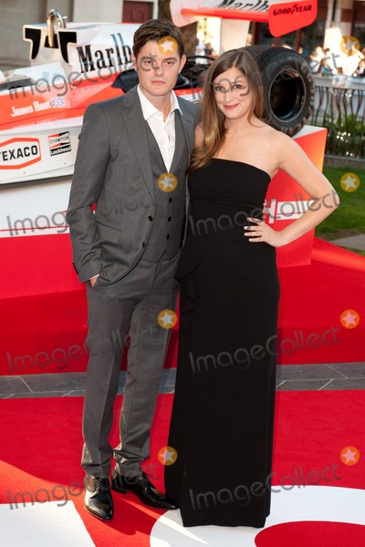 Alexandra Maria Lara Photo - Sam Riley and Alexandra Maria Lara arriving for the Rush World premiere at the Odeon Leicester Square London 02092013 Picture by Steve Vas  Featureflash