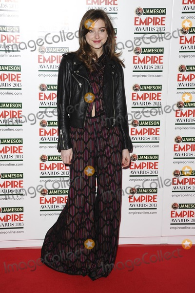 Antonia Clarke Photo - Antonia Clarke arrives for the Empire Film Awards 2013 at the Grosvenor House Hotel London 24032013 Picture by Steve Vas  Featureflash