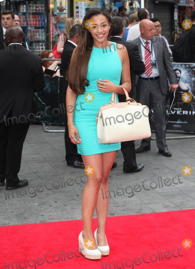 Amal Fashanu Photo - Amal Fashanu arriving for The Wolverine premiere Empire Leicester Square London 16072013 Picture by Alexandra Glen  Featureflash