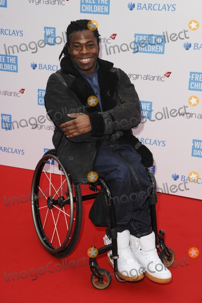 Ade Adepitan Photo - Ade Adepitan at the We Day UK 2014 at Wembley Arena  London 07032014 Picture by Steve Vas  Featureflash