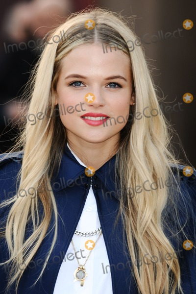Gabriella Wilde Photo - Gabriella Wilde arriving for the Burberry Prorsum catwalk show as part of London Fashion Week AW13 Kensington Gardens London 18022013 Picture by Steve Vas  Featureflash