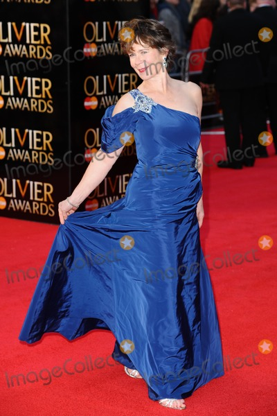 Celia Imrie Photo - Celia Imrie arrives for the Olivier Awards 2012 at the Royal Opera House Covent Garden London 15042012 Picture by Steve Vas  Featureflash