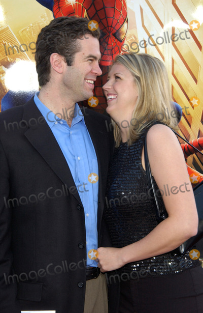 Alex Michel Photo - The Bachelor ALEX MICHEL  girlfriend AMANDA MARSH at the Los Angeles premiere of Spider-Man29APR2002   Paul Smith  Featureflash