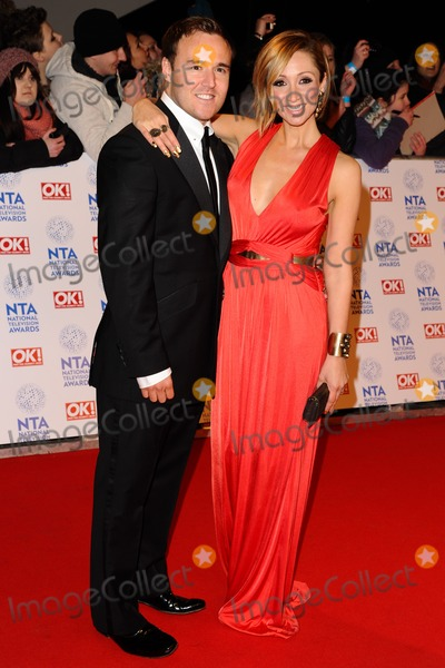 Alan Halsall Photo - Alan Halsall and Lucy Jo Hudson arriving for the National Television Awards 2013 at the O2 Arena London 23012013 Picture by Steve Vas  Featureflash
