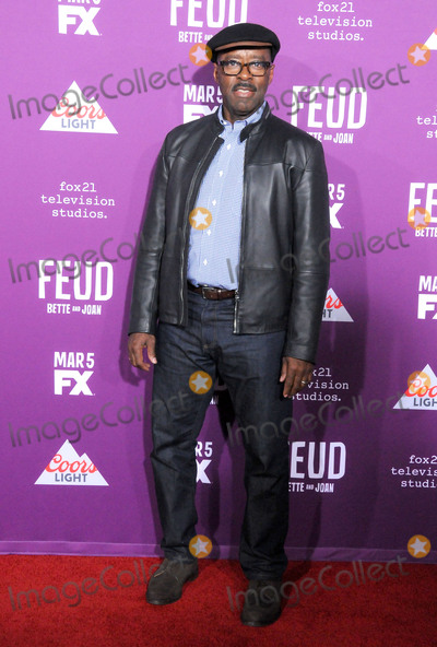 Graumans Chinese Theatre Photo - HOLLYWOOD CA - MARCH 1 Actor Courtney B Vance attends Red Carpet Event for FXs Feud Bette And Joan at Graumans Chinese theatre on March 1 2017 in Hollywood California  (Photo by Barry KingImageCollectcom)