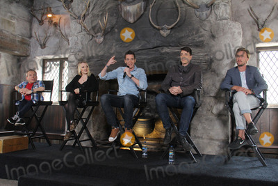Oliver Phelps Photo - Warwick Davis Evanna Lynch James Phelps Oliver Phelps Tom Felton    04062016 The Wizarding World of Harry Potter Media Preview Day held at the Universal Studios Hollywood in Hollywood CA Photo by Kazuki Hirata  HollywoodNewsWirenet