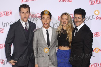 Alex Goyette Photo - Marcus Johns Cameron Dallas Lia Marie Johnson Alex Goyette 12102014 Los Angeles Premiere of AwesomenessTVs Expelled held at  Westwood Village Theatre in Los Angele CA Photo by Mayuka Ishikawa  HollywoodNewsWirenet