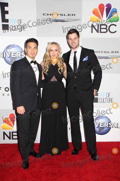 TIM MOREHOUSE Photo - Apolo Anton Ohno Nastia Luikin Tim Morehouse 01122014 71st Annual Golden Globe Awards NBCUniversal After Party held at the Beverly Hilton Hotel in Beverly Hills CA Photo by Izumi Hasegawa  HollywoodNewsWirenet