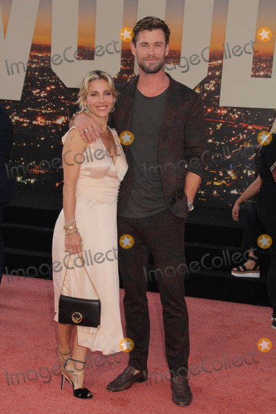Chris Hemsworth Photo - Elsa Pataky Chris Hemsworth 07222019 The Los Angeles Premiere of Once Upon A Time In Hollywood held at the TCL Chinese Theatre in Los Angeles CA Photo by Izumi Hasegawa  HollywoodNewsWireco