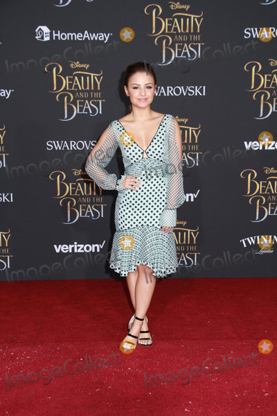 Aimee Carrero Photo - Aimee Carrero 03022017 The World Premiere of Beauty and the Beast held at the El Capitan Theater in Hollywood CA Photo by Izumi Hasegawa  HollywoodNewsWireco