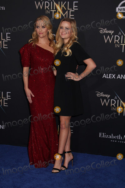 Ava Phillippe Photo - Reese Witherspoon Ava Phillippe 02262018 The World Premiere of A Wrinkle in Time held at El Capitan Theatre in Los Angeles CA Photo by Izumi Hasegawa  HollywoodNewsWireco