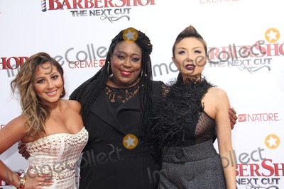 Adrienne Bailon Photo - Adrienne BailonLoni LoveJeannie Mai 04062016 The Premiere of Barbershop The Next Cut held at The TCL Chinese Theatre in Los Angeles CA Photo by Izumi Hasegawa  HollywoodNewsWireco