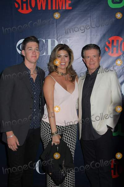 Alan Thicke Photo - Carter Thicke Tanya Thicke Alan Thicke 08102015 CBS the CW and Showtime 2015 TCA Party at Pacific Design Center in West Hollywood CA Photo by Izumi Hasegawa  HollywoodNewsWirenet