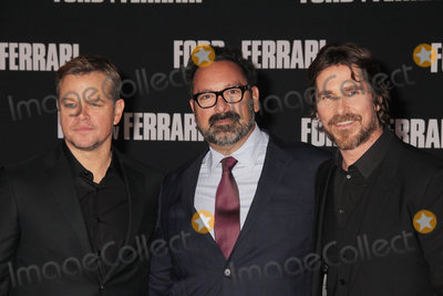 The Specials Photo - Matt Damon James Mangold Christian Bale 11042019 The Special Screening of Ford v Ferrari held at TCL Chinese Theater in Los Angeles CA  Photo by Izumi Hasegawa  HollywoodNewsWireco