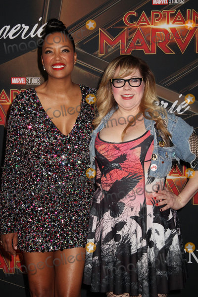 Aisha Tyler Photo - Aisha Tyler Kristen Vangsness 03042019 The World Premiere of Captain Marvel held at the El Capitan Theatre in Los Angeles CA Photo by Izumi Hasegawa  HollywoodNewsWireco
