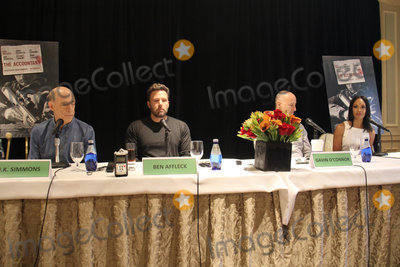 JK Simmons Photo - JK Simmons Ben Affleck Gavin OConnor Cynthia Addai-Robinson 09302016 gThe Accountanth Press Conference held at the Four Seasons Los Angeles at Beverly Hills in Los Angeles CA Photo by Izumi Hasegawa  HollywoodNewsWireco