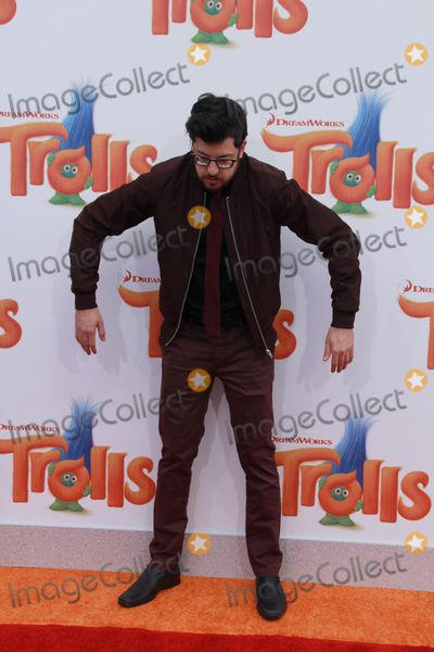 Christopher Mintz Plasse Photo - Christopher Mintz-Plasse 10232016 Premiere of Trolls held at the Regency Village Theater in Los Angeles CA Photo by Julian Blythe  HollywoodNewsWireco