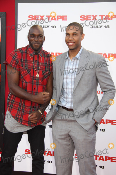 Quincy Pondexter Photo - Quincy Pondexter Xavier Henry 07102014 The World Premiere of gSex Tapeh held at The Regency Village Theatre in Westwood CA Photo by Izumi Hasegawa  HollywoodNewsWirenet