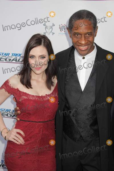 Adrienne Wilkinson Photo - Adrienne Wilkinson Tim Russ 08012015 The Premiere of gStar Trek Renegadesh held at Crest Theater in Los Angeles CA Photo by Izumi Hasegawa  HollywoodNewsWirenet