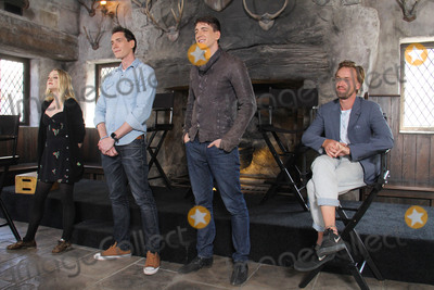 Oliver Phelps Photo - Evanna Lynch James Phelps Oliver Phelps Tom Felton  04062016 The Wizarding World of Harry Potter Media Preview Day held at the Universal Studios Hollywood in Hollywood CA Photo by Kazuki Hirata  HollywoodNewsWirenet