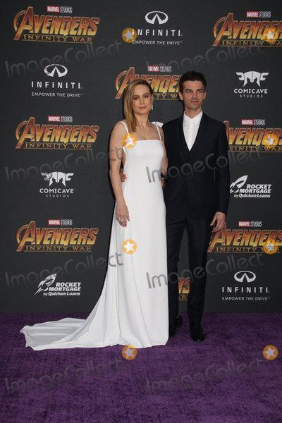 Alex Greenwald Photo - Brie Larson Alex Greenwald 04232018 The World Premiere of Avengers Infinity War held at Hollywood CA Photo by Izumi Hasegawa  HollywoodNewsWireco