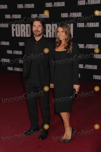 Christian Bale Photo - Christian Bale Sibi Blazic 11042019 The Special Screening of Ford v Ferrari held at TCL Chinese Theater in Los Angeles CA  Photo by Izumi Hasegawa  HollywoodNewsWireco