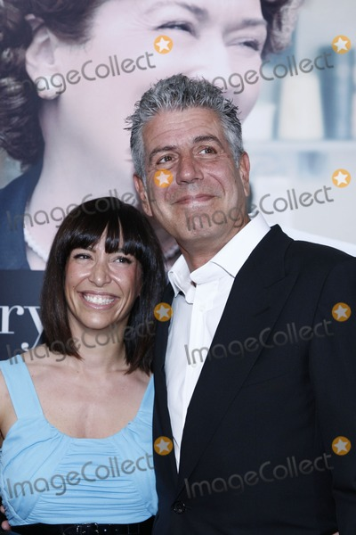 Anthony Bourdain Photo - NEW YORK NY - JULY 30   Ottavia Busia and TV personality Anthony Bourdain (R) attend the Julie  Julia world premiere at The Ziegfeld Theatre on July 30 2009 in New York City