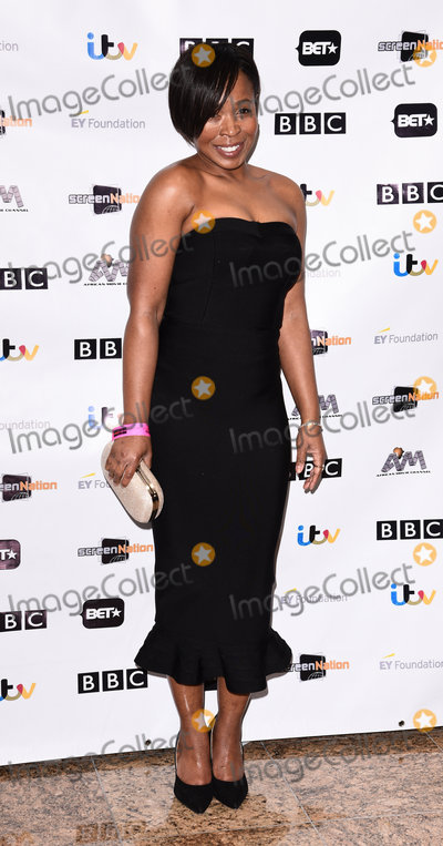 Azuka Oforka Photo - London UK  Azuka Oforka  at the Screen Nations Awards held at the Hilton Metropole Hotel Edgware Road London on Saturday 19 March 2016Ref LMK392-60351-200316Vivienne VincentLandmark Media WWWLMKMEDIACOM