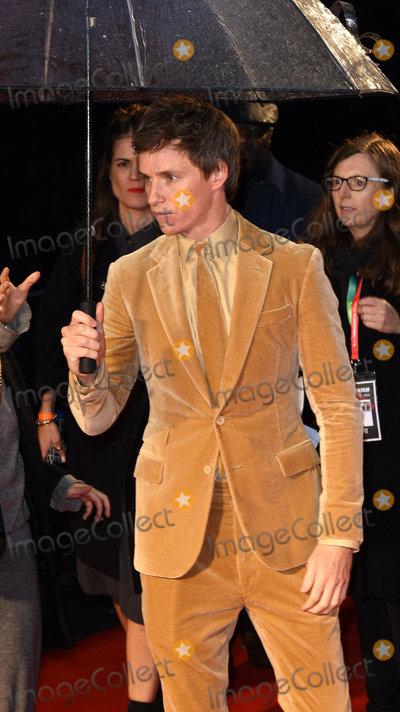 Eddie Redmayne Photo - London UK Eddie Redmayne at the premiere of The Aeronauts at the BFI London Film Festival held at Odeon Luxe Leicester Square London on Monday 7 October 2019Ref LMK392 -J5560-081019Vivienne VincentLandmark Media WWWLMKMEDIACOM