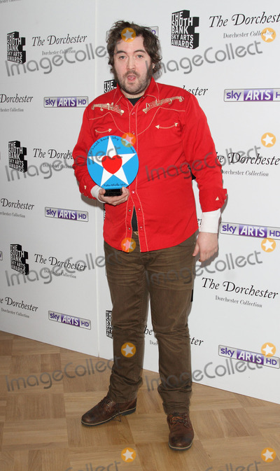 Nick Helm Photo - London UK  Nick Helm (with Breakthrough Award)   at the  South Bank Sky Arts Awards Press room  at the Dorchester Hotel Park Lane on 27th January  2014  RefLMK73-46488-280114 Keith MayhewLandmark Media WWWLMKMEDIACOM
