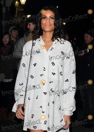 Aluna Francis Photo - London UK Aluna Francis arriving at the Brit Awards 2013 Nominations Launch at the Savoy Hotel The Strand London January 10th 2013Keith MayhewLandmark Media