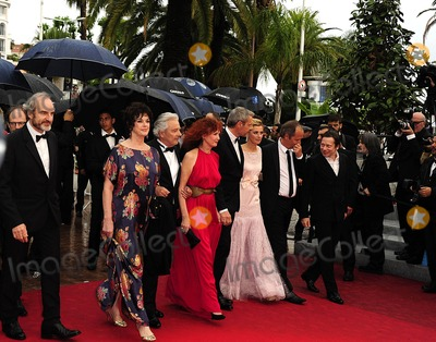 Anne Consigny Photo - Cannes France Anne Duperey Alain Resnais Sabine Azema Lambert Wilson Anne Consigny and Jean-Louis Livi  arrive for the screening of Vous navez encore rien vu  (You aint seen nothing yet ) presented in competition at the 65th Cannes film festival 21st May 2012SydLandmark Media