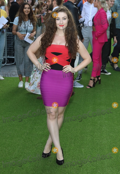 Amber Doig-Thorne Photo - London UK Amber Doig-Thorne at The Festival World Premiere at Cineworld Leicester Square London on Monday 13th August 2018Ref LMK73-J2471-140818Keith MayhewLandmark MediaWWWLMKMEDIACOM