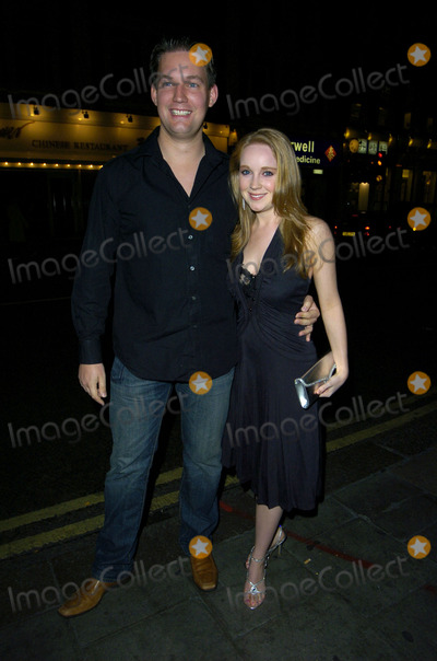 Julia Haworth Photo - London UKJulia Haworth and guest at Kate Fords  engagement party Century Club 5th May 2007 Can NguyenLandmark Media