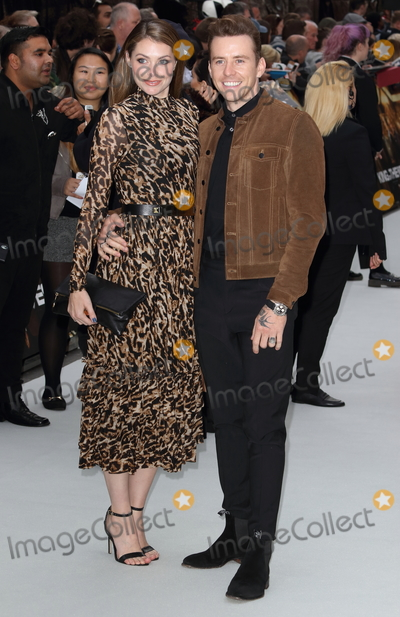 Danny Jones Photo - London UK Danny Jones and wife Georgia Horsley at King of Thieves World Premiere at Vue West End Leicester Square London on Wednesday 12 September 2018Ref LMK73-J2595-130918Keith MayhewLandmark MediaWWWLMKMEDIACOM