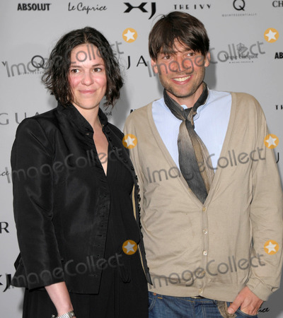 Alex James Photo - London UK Claire James and Alex James at the Launch of the new Jaguar XJ held at the Saatchi Gallery in London 9th July 2009SydLandmark Media