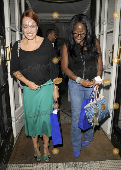 Angelica Bell Photo - London UK Sarah Cawood and Angelica Bell at the Jeans For Genes Launch Party held at Kettners 5th September 2011Can NguyenLandmark Media