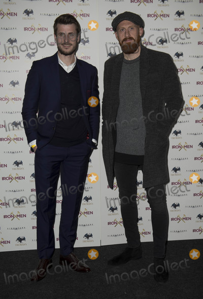 Genesis Photo - London UK Havard Nordtveit and James Collins at  the UK Premiere of Iron Men at the Mile End Genesis Cinema on March 2nd 2017 in London EnglandRef LMK386-63058-030317Gary MitchellLandmark Media WWWLMKMEDIACOM