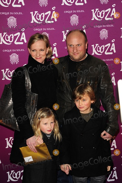 Hermione Norris Photo - London UK Hermione Norris and Family at the VIP Night for Cirque du Soleils new production Kooza at the Royal Albert Hall 8th January 2013SydLandmark Media