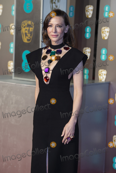 Cate Blanchett Photo - London UK Cate Blanchett    at EE British Academy Film Awards at the Royal Albert Hall Kensington London on Sunday February 10th 2019Ref LMK386-S2120-110219Gary MitchellLandmark Media WWWLMKMEDIACOM