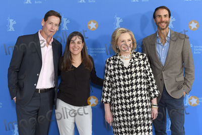 Hillary Rodham Photo - Berlin Germany Co-producer Howard Owens Former US Secretary of State and First Lady Hillary Rodham Clinton director Nanette Burstein and co-producer Ben Silverman  at  the photocall of Hillary during the 70th Berlin International Film Festival at the Grand Hyatt Hotel 25th February 2020 RefLMK200-S2930-250220Landmark MediaWWWLMKMEDIACOM