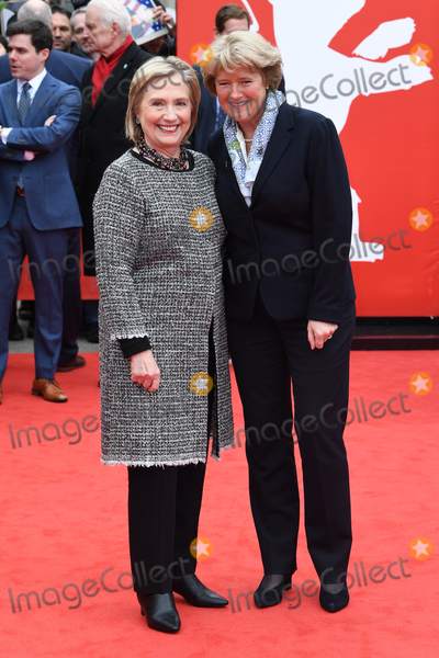 Hillary Clinton Photo - Berlin Germany Former USA Secretary of State First Lady and 2016 Presidential candidate  Hillary  Clinton  and and Germanys Federal Governments Commissioner for Culture and the Media Monika Gruetters at  the screening of Hillary during the 70th Berlin International Film Festival at the Haus Der Berliner Festspiele 24th February 2020 RefLMK200-S2925-240220Landmark MediaWWWLMKMEDIACOM