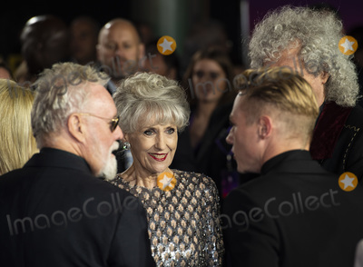 Anita Dobson Photo - London UK  Anita Dobson  at  the World Premiere of Bohemian Rhapsody at SSE Arena Wembley on October 23 2018 in London EnglandRef LMK386-J2845-241018Gary MitchellLandmark MediaWWWLMKMEDIACOM
