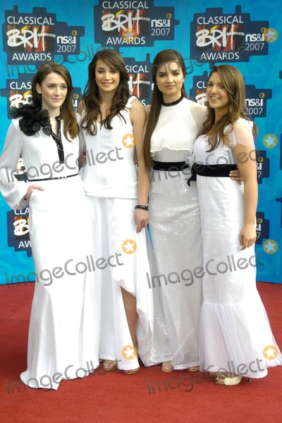 All Angels Photo - London UK All Angels(Melanie Nakhla Charlotte Ritchie Laura Wright and Daisy Chute) at the Classical BRIT Awards at the Royal Albert Hall 3rd May 2007 Can NguyenLandmark Media