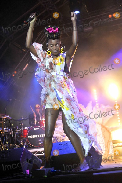 Noisettes Photo - Oxfordshire UK The Noisettes at The Big Feastival held at Alex James Farm in Kingham 1st September 2012Keith MayhewLandmark Media