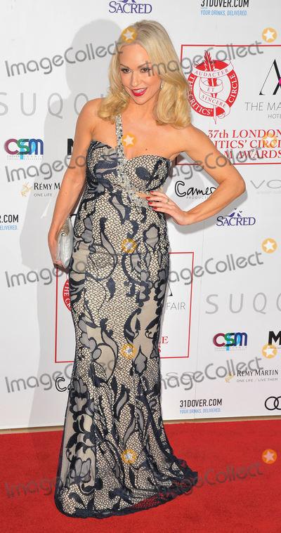 Kristina Rihanoff Photo - LondonUK  Kristina Rihanoff   at the London Critics Circle Film Awards 2017 The May Fair Hotel Stratton Street London England UK on Sunday 22 January 2017  RefLMK315-62696-230117Can NguyenLandmark MediaWWWLMKMEDIACOM